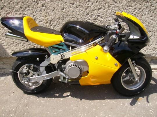 Minimotorky – minibike