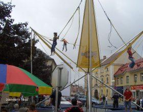 trampolína bungee 4v1