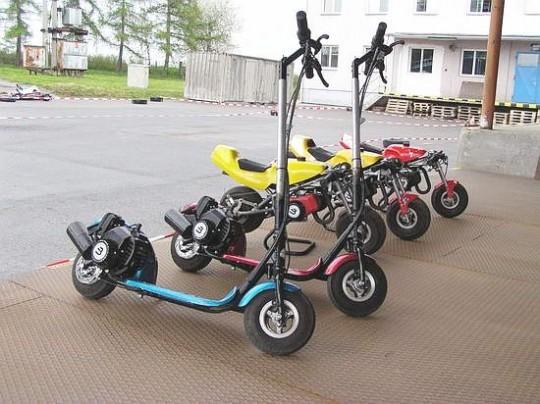 Motorové koloběžky