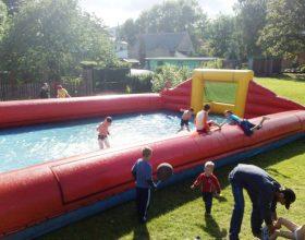 Vodní fotbal - florbal