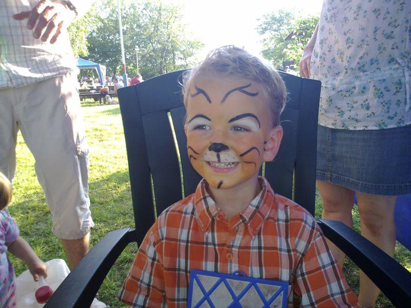 malování na obličej – facepainting