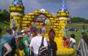 Skákací hrad – atrakce k pronájmu