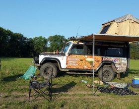 Expediční vozidlo Land Rover