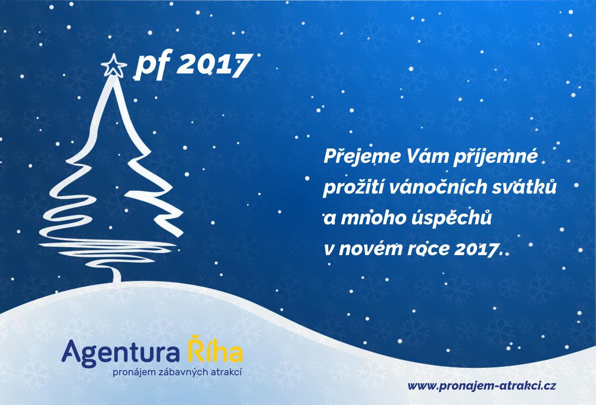 PF 2017 – Agentura Říha (pronajem-atrakci.cz)