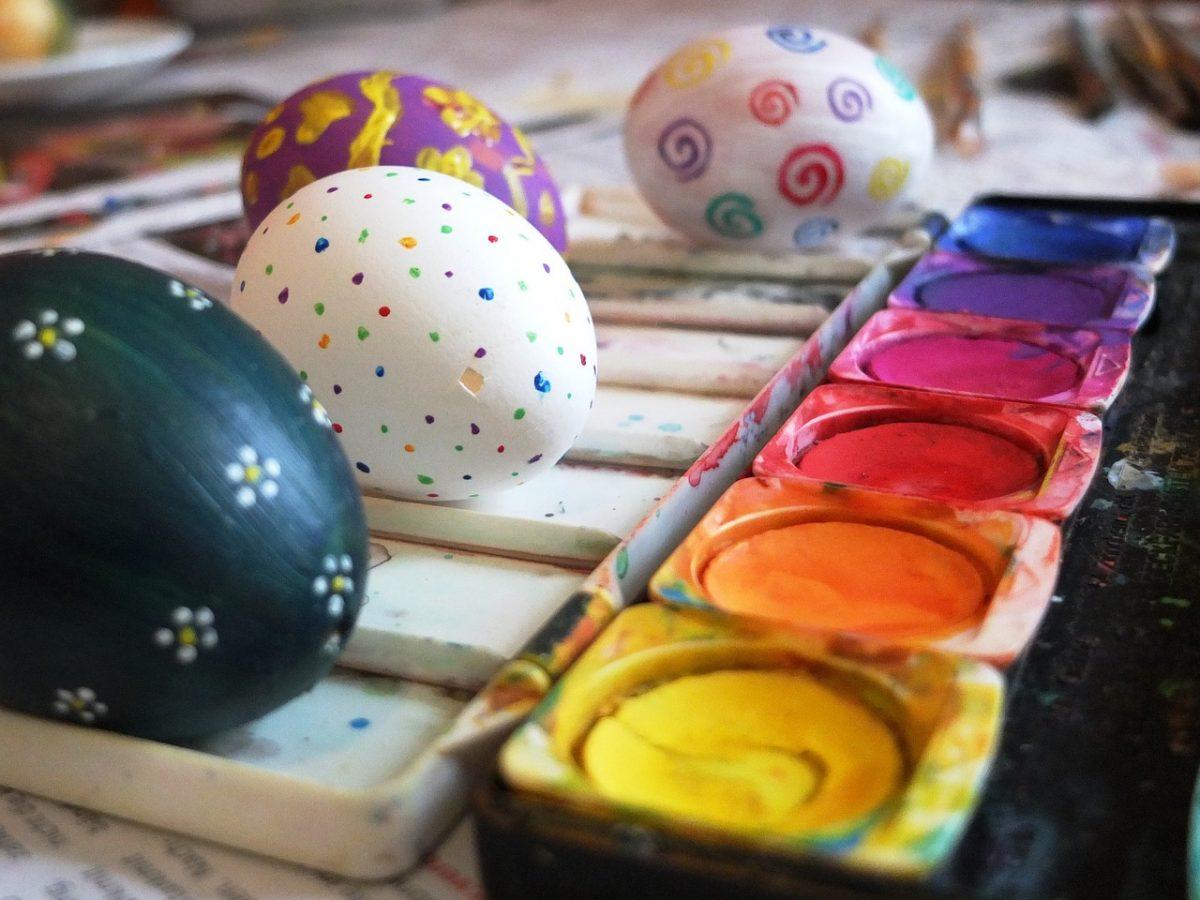 Malovaná velikonoční vajíčka – velikonoční workshopy