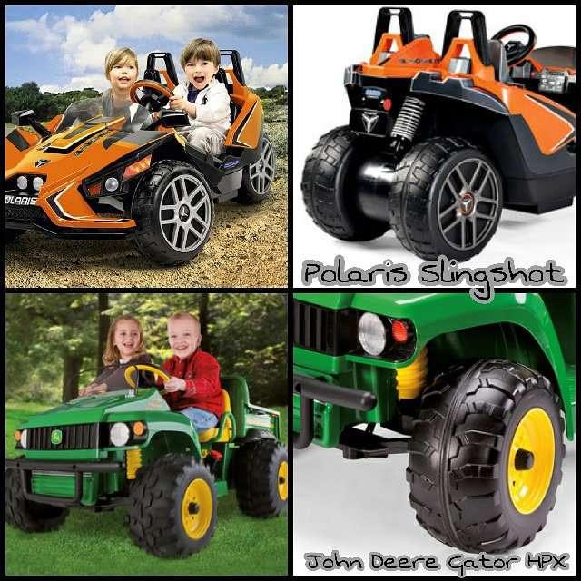obnova vozového parku dětských autíček na baterky