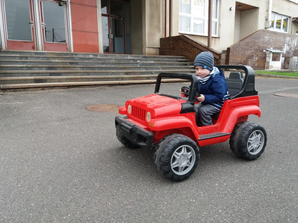 Dětské elektro vozítka
