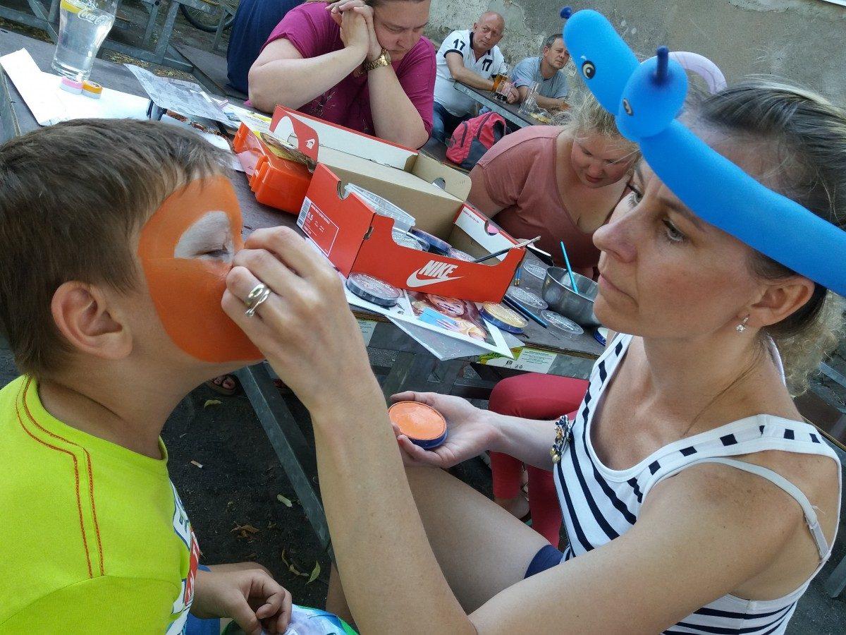 Facepainting – malování na obličej