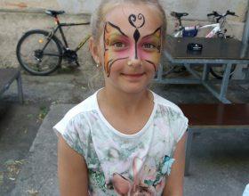 Tip na atrakci pro děti: Malování na obličej (facepainting) děti milují