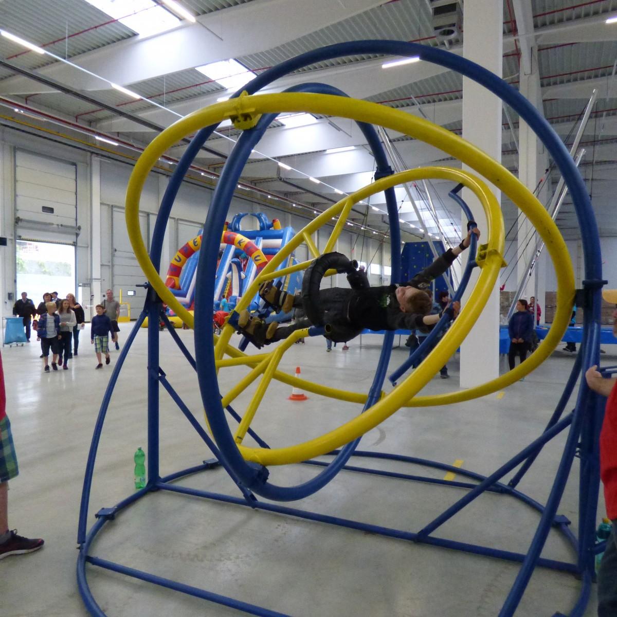 aerotrim - trenažér stavu beztíže