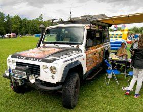 Expediční vozidlo Land Rover Santana: jízda či rekvizita