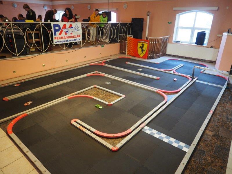 Autodráha Mini-Z Street Racing