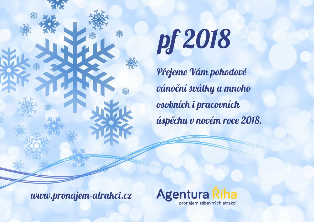 pf2018 - přáníčko od Pronájem atrakcí, Agentura Říha