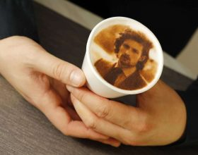 stánek foto káva