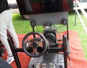 Simulátor F1 pro dva jezdce