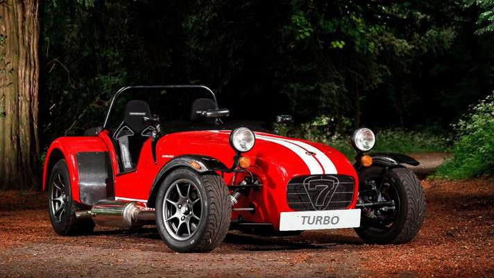 Atrakce Lotus 7 TURBO