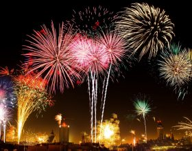 Ohňostroje na Silvestra, párty a další příležitosti