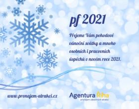 PF 2021: Přejeme Vám pěkné Vánoce a hodně úspěchů v novém roce
